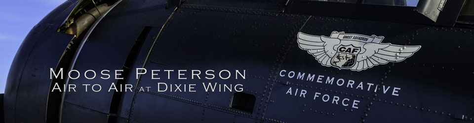 Dixie Wing CAF Air to Air with Moose Peterson